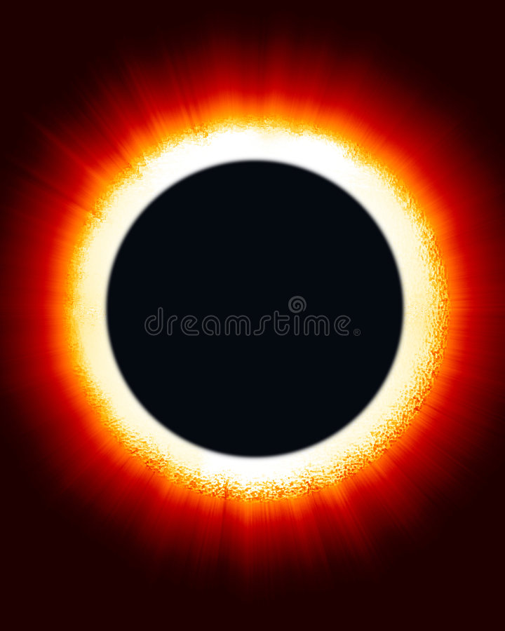Download Eclipse of the Sun stock illustration. Image of global - 3525403