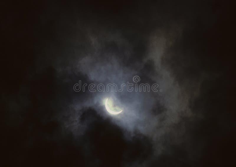 Eclipse total foto de stock royalty free