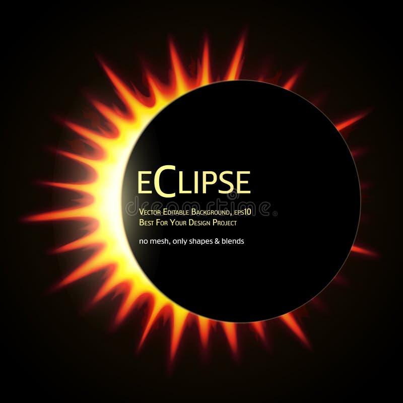 Eclipse total del sol libre illustration