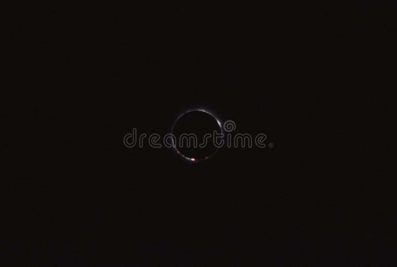 Eclipse totale fotografie stock libere da diritti