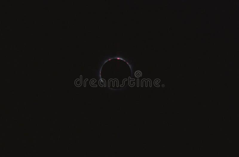 Eclipse totale fotografia stock