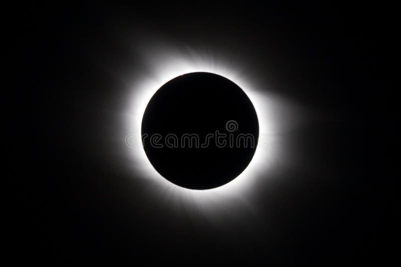 Eclissi solare fotografia stock libera da diritti