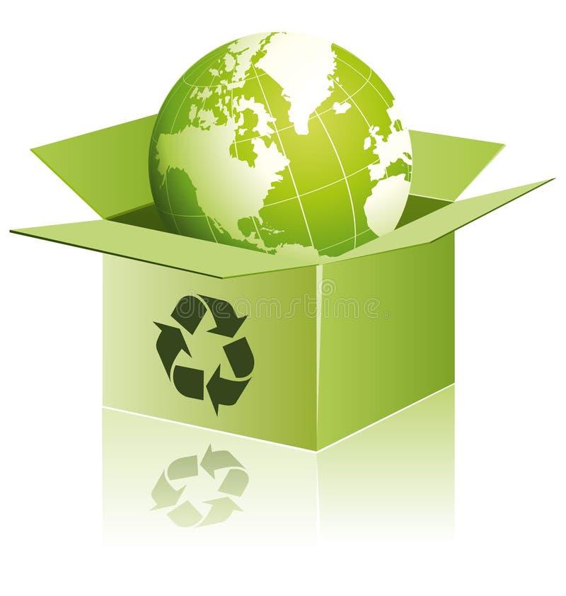 eco世界 向量例证