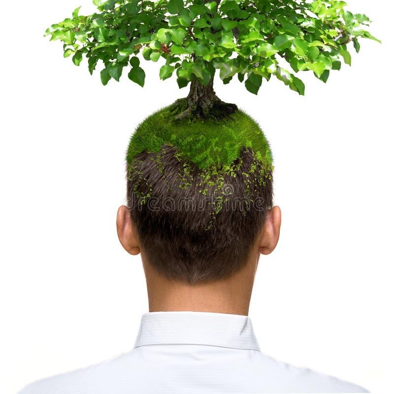 eco头脑 免版税图库摄影
