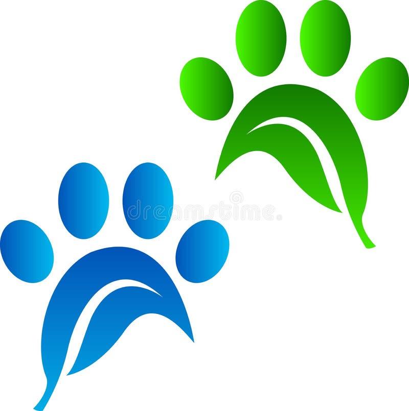 Eco宠物印刷品 皇族释放例证