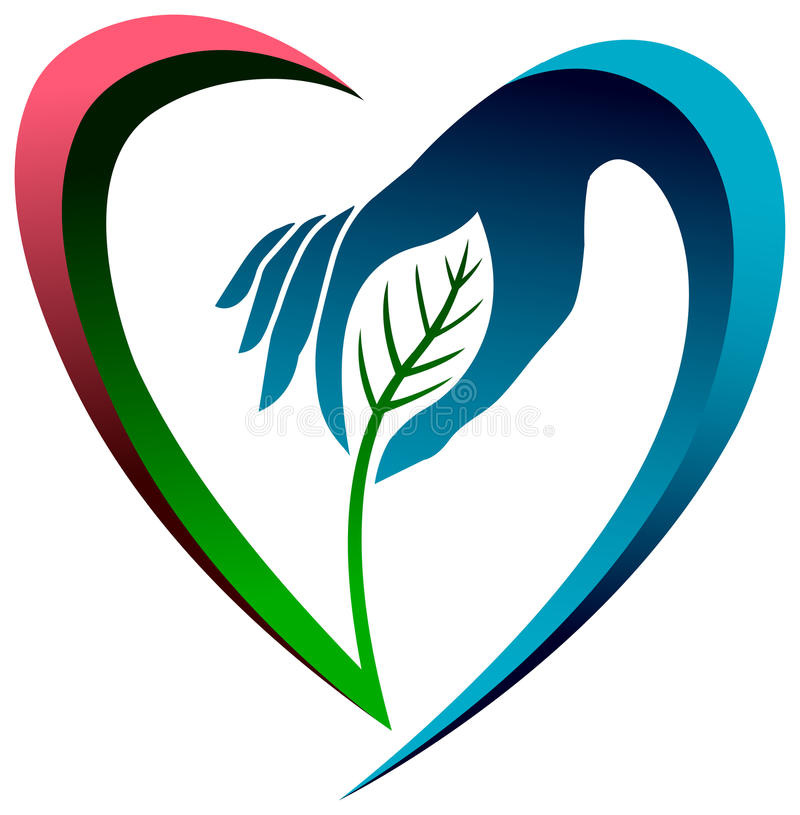 Eco爱 向量例证