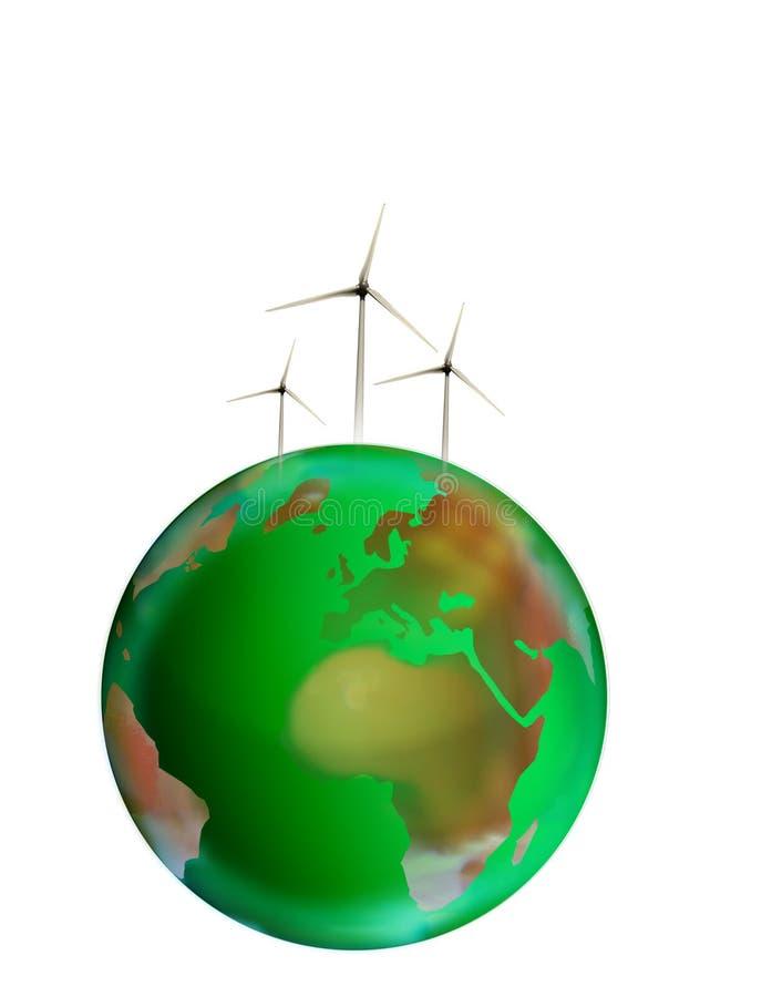 eco能源 库存例证