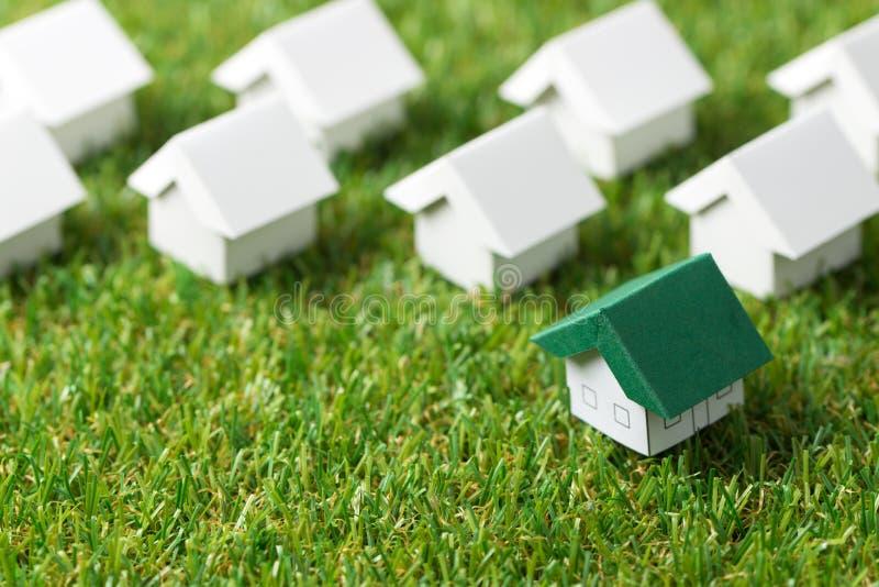 Eco życzliwy dom zdjęcie stock