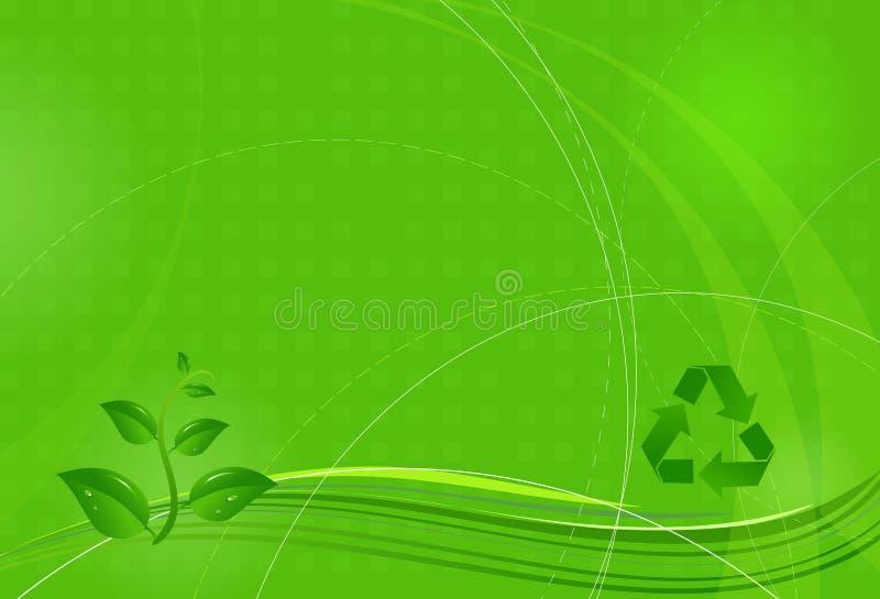 eco ανασκόπησης διανυσματική απεικόνιση