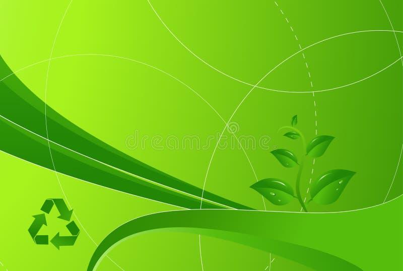 eco ανασκόπησης ελεύθερη απεικόνιση δικαιώματος