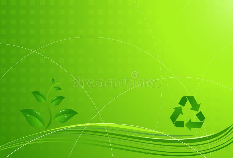 eco ανασκόπησης απεικόνιση αποθεμάτων