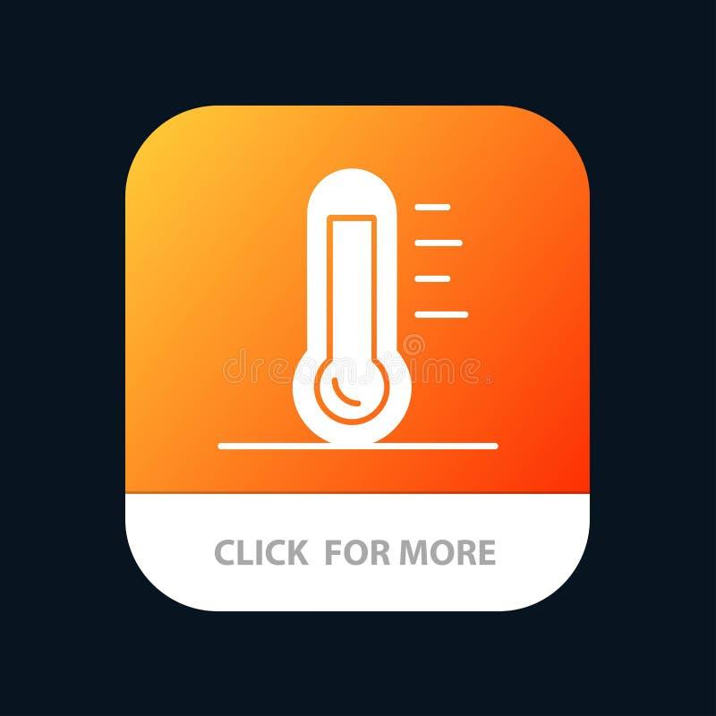Eco, οικολογία, ενέργεια, περιβάλλον, πράσινο κινητό App κουμπί Αρρενωπή και IOS Glyph έκδοση ελεύθερη απεικόνιση δικαιώματος