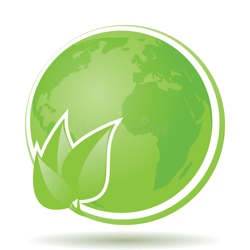 eco φιλικό ελεύθερη απεικόνιση δικαιώματος