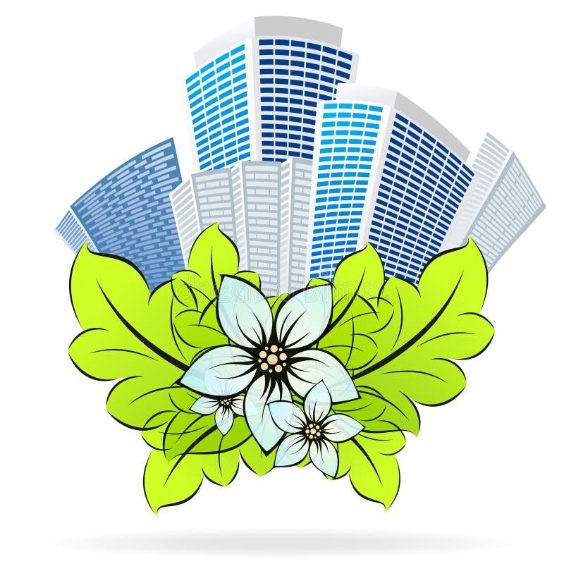 eco города бесплатная иллюстрация