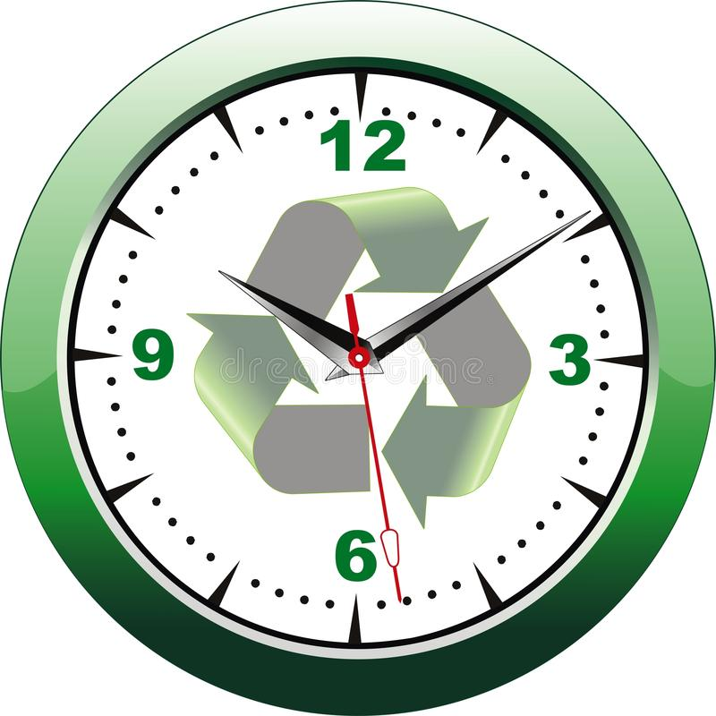 eco часов бесплатная иллюстрация