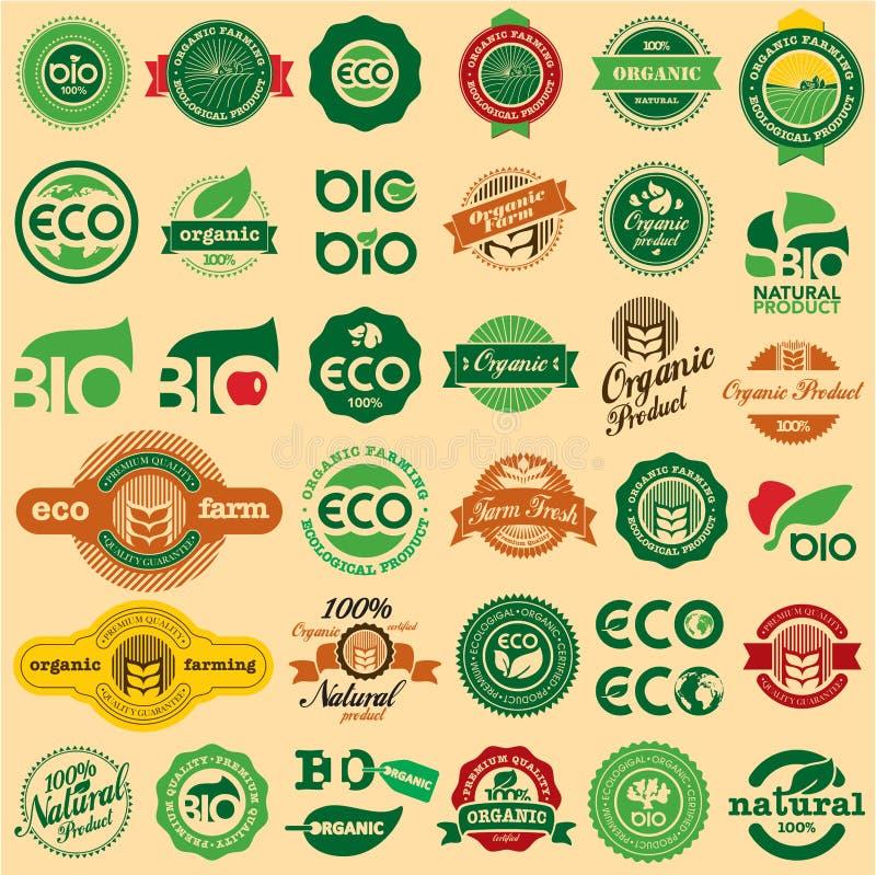 ECO &生物符号 皇族释放例证