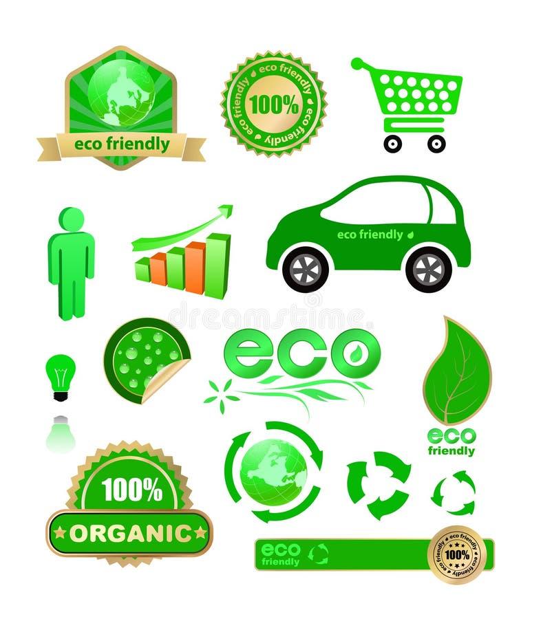 Eco stock de ilustración