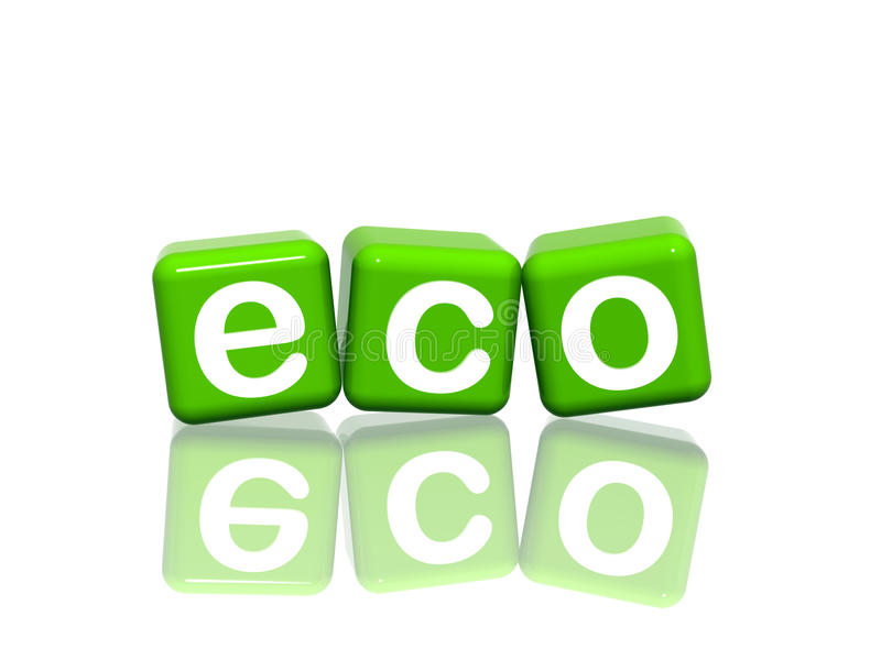 Eco illustrazione di stock