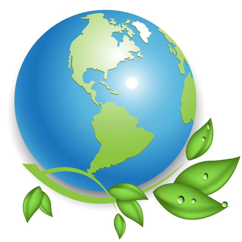 Eco royalty-vrije illustratie