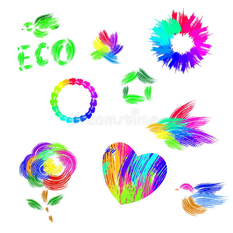Eco vector illustratie