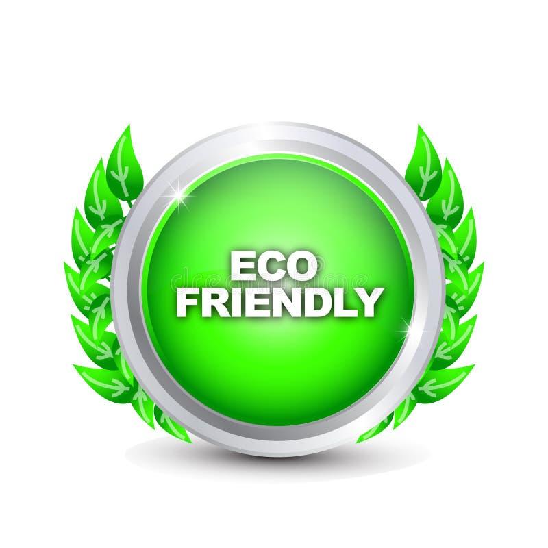 eco 3 содружественное иллюстрация штока