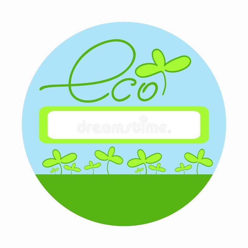 Eco3 ilustracja wektor