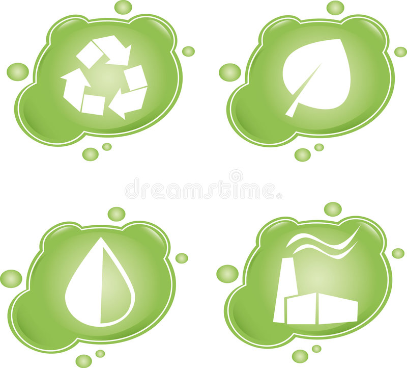 Download Eco stock vector. Image of energy, idea, earth, element - 9044641