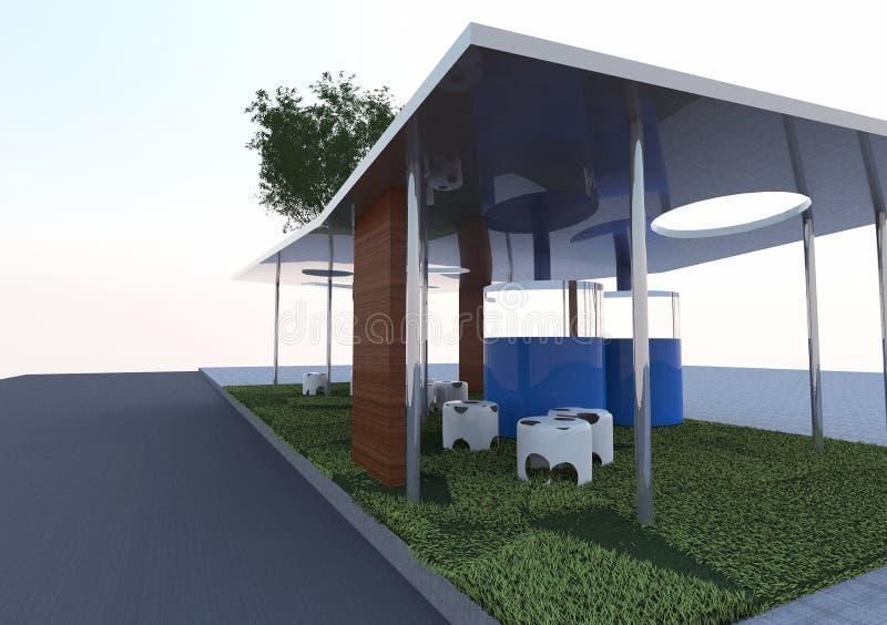 Download Eco Architektur stock abbildung. Illustration von auslegung - 26350825