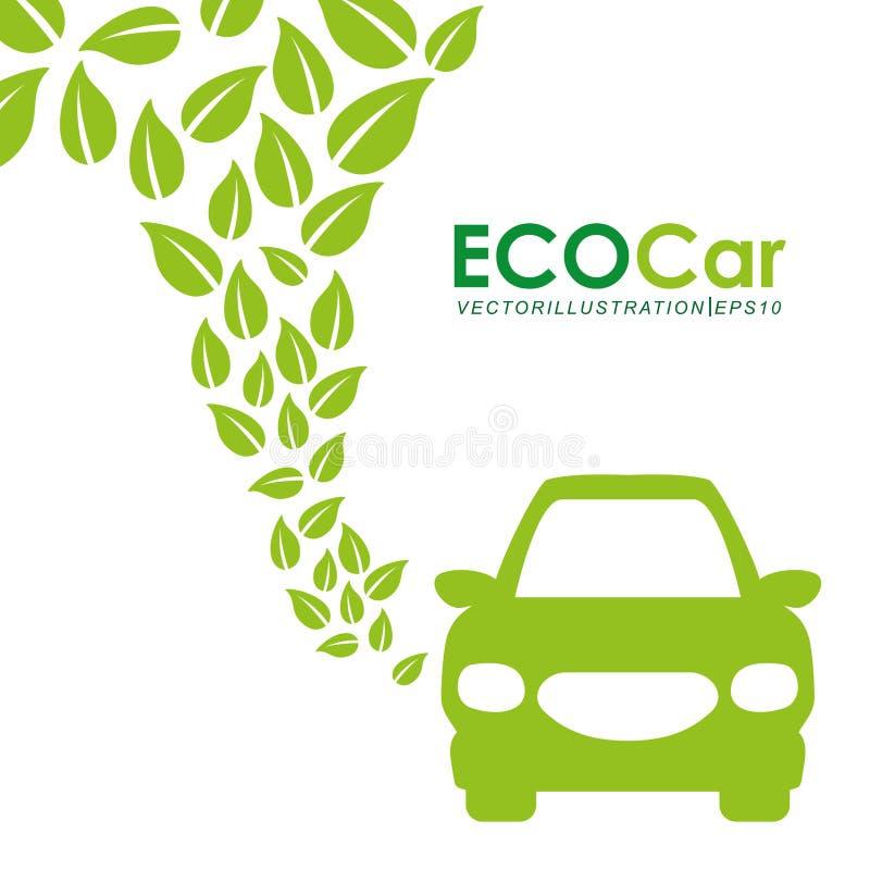 Eco Auto vektor abbildung
