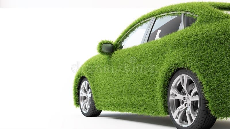 Eco Auto lizenzfreies stockbild
