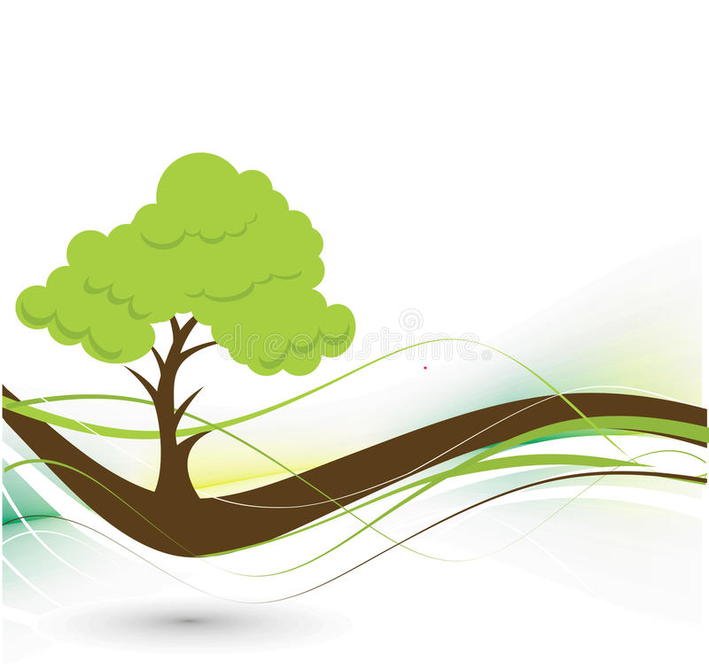 Download Eco background stock vector. Image of foliage, leafy - 13124230