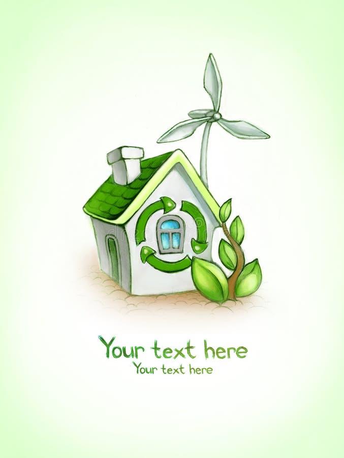 Eco Background Stock Image