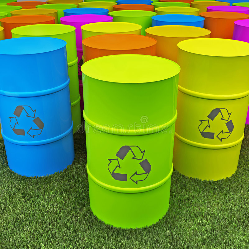 Eco Becken stockbilder