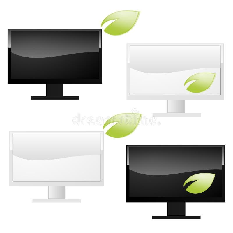 Eco Computer   lizenzfreie abbildung