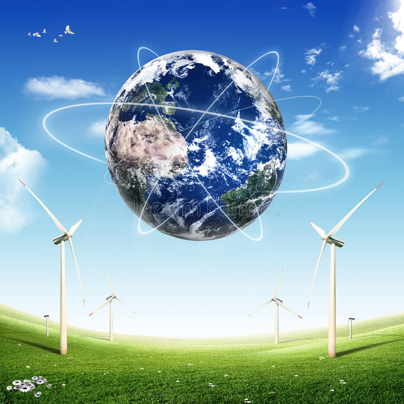 Download ECO Concept (globe) stock illustration. Illustration of alternative - 27147302