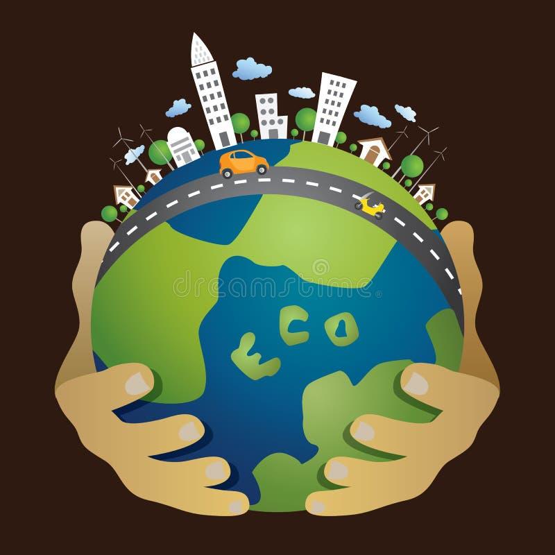 Eco concept. royalty free stock photo