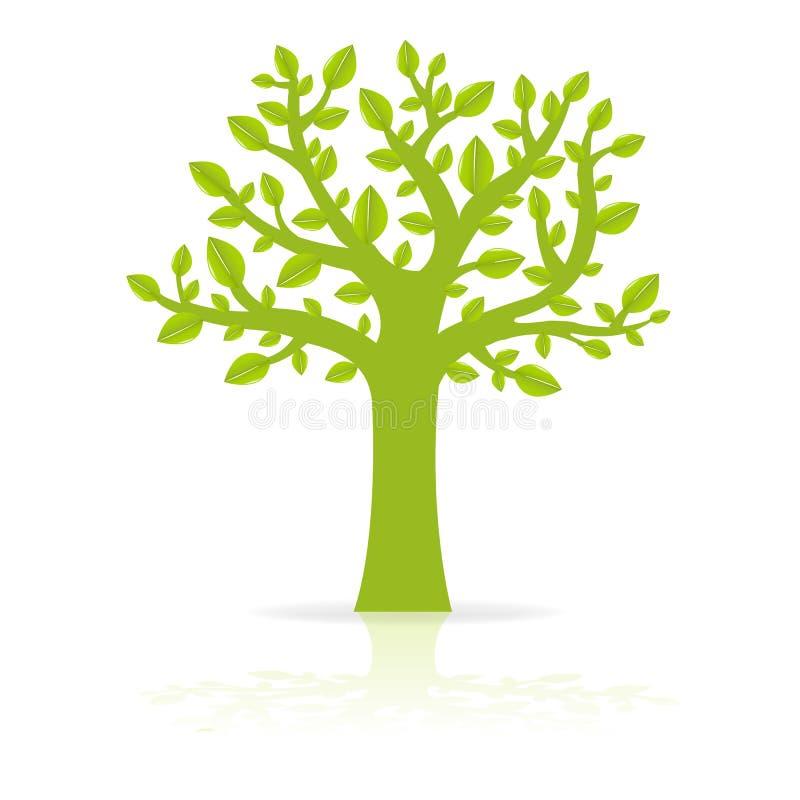 Eco Drzewo royalty ilustracja