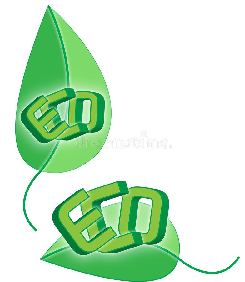 Eco, Eco…. immagini stock libere da diritti