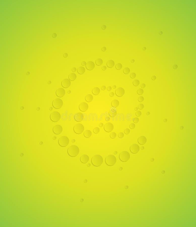 Download Eco emaila symbol ilustracja wektor. Ilustracja złożonej z gazetka - 28957401
