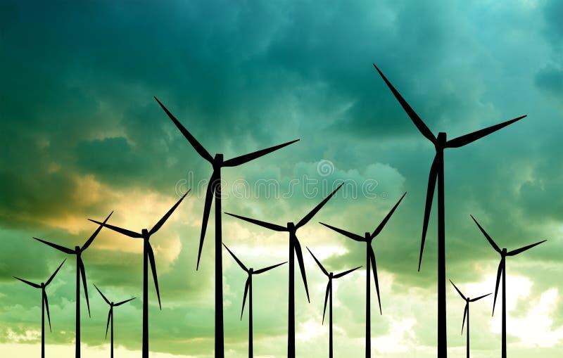 Eco-Energia, immagine concettuale fotografia stock