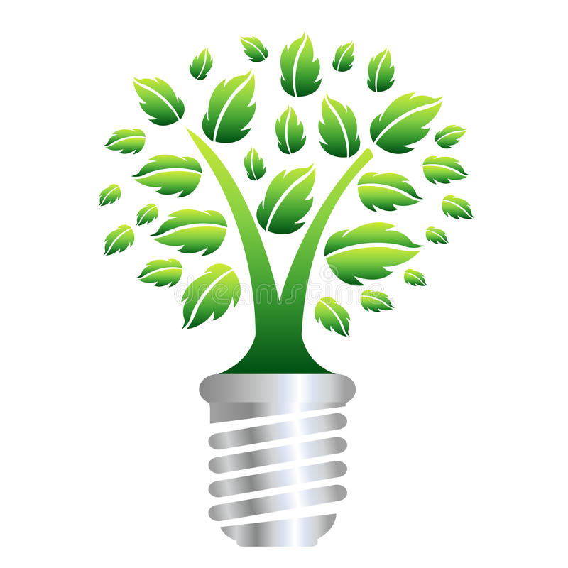 Download Eco Energy stock vector. Image of lamp, energy, electricity - 19325824