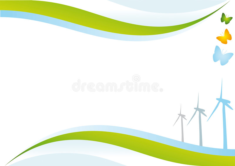 Download Eco energy background. stock vector. Image of industry - 7647341