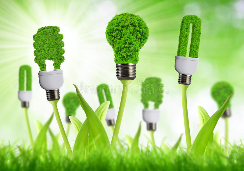 Download Eco Energy Bulbs Stock Photo - Image: 39268392