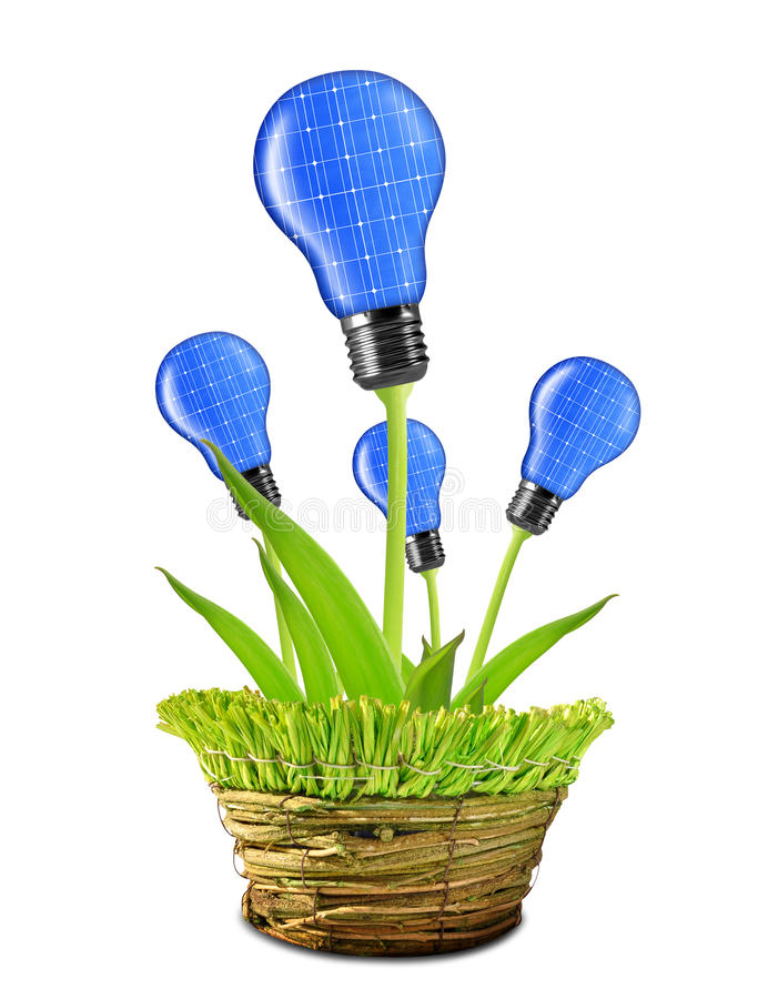 Download Eco energy bulbs stock photo. Image of future, conceptual - 34264060