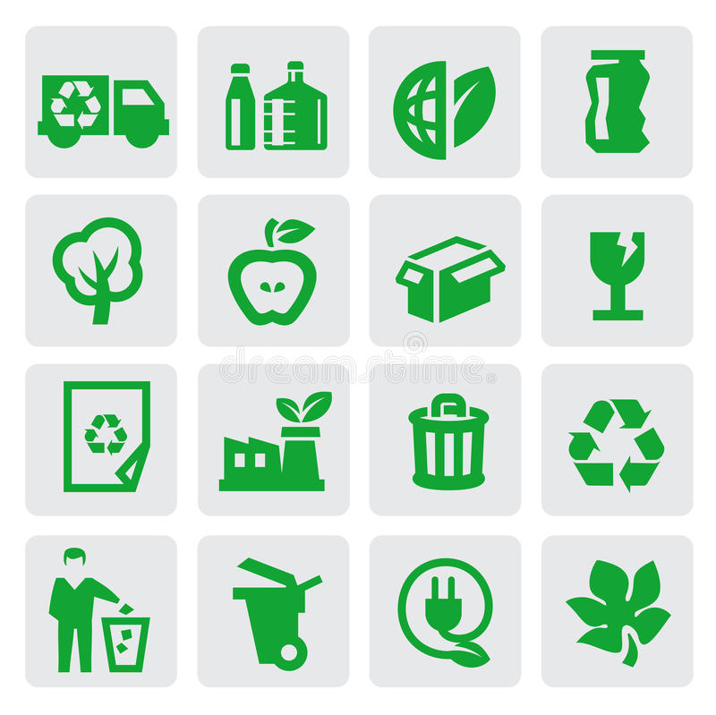 Download Eco Energy Icons Stock Image - Image: 27253951