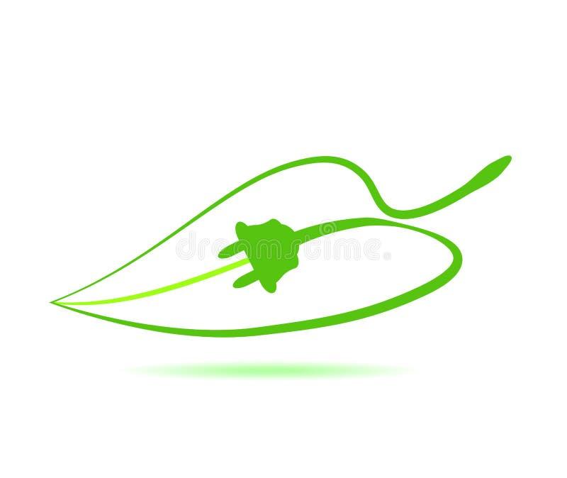Eco energy vector illustration