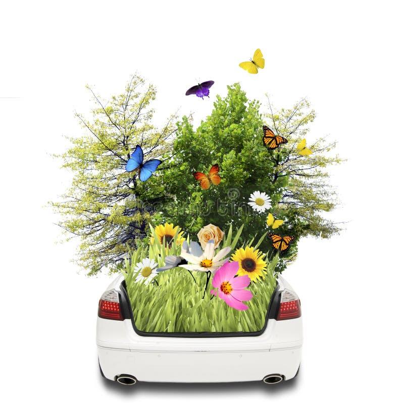 Eco Fahrzeug stockfotografie