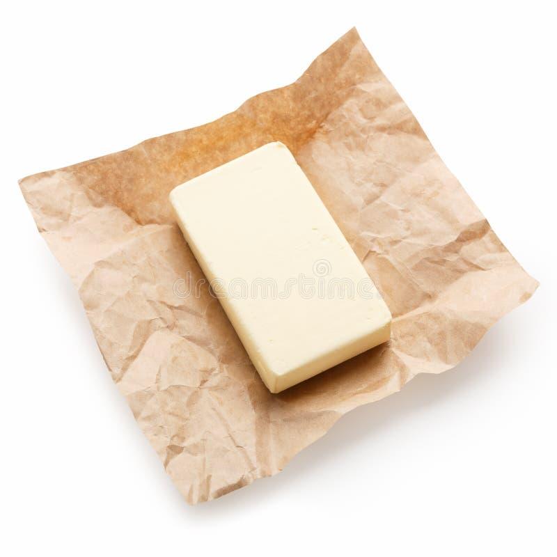Eco farm butter concept stock image