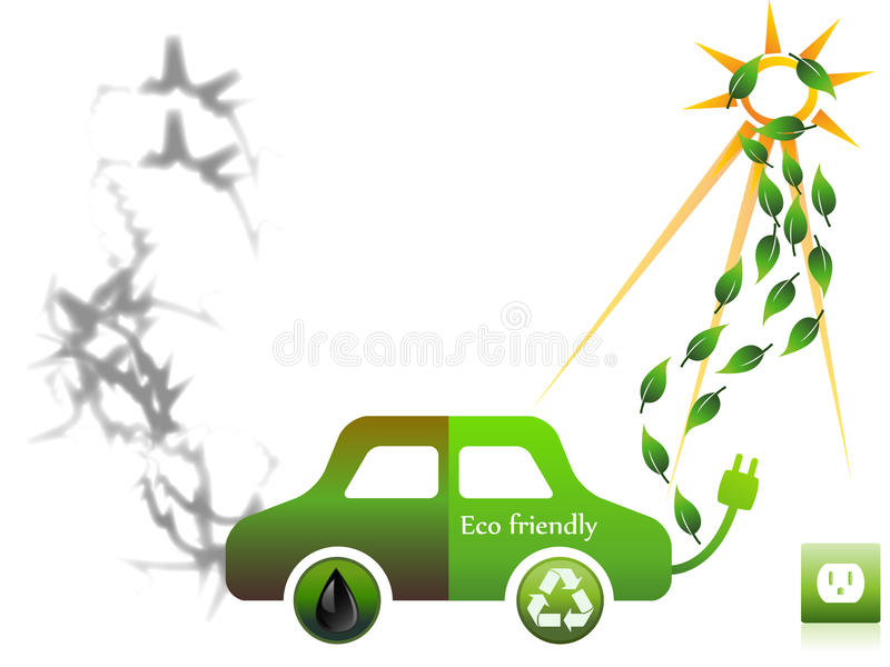 Download Eco friendly stock vector. Image of auto, motor, illustration - 21318231