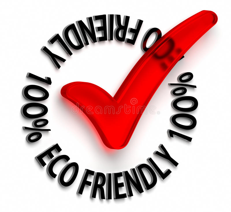 Eco Friendly royalty free illustration